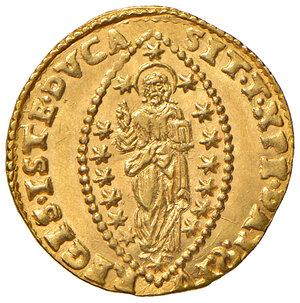 reverse: Venezia. Alvise Contarini (1676-1684). Zecchino AV gr. 3,49. Paolucci 1. SPL