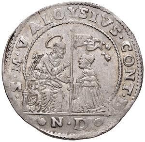 obverse: Venezia. Alvise Contarini (1676-1684). Ducato nuovo AG gr. 22,72. Paolucci 12.  Fondi lucenti e migliore di SPL