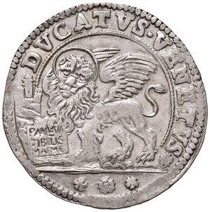 reverse: Venezia. Alvise Contarini (1676-1684). Ducato nuovo AG gr. 22,72. Paolucci 12.  Fondi lucenti e migliore di SPL