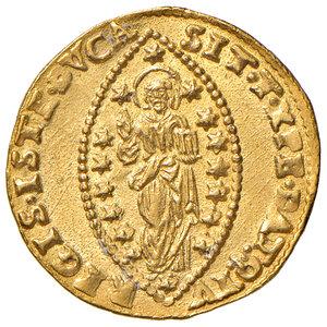 reverse: Venezia. Marc'Antonio Giustinian (1684-1688). Zecchino AV gr. 3,51. Paolucci 1. Migliore di SPL