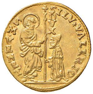 obverse: Venezia. Silvestro Valier (1694-1700). Zecchino AV gr. 3,49. Paolucci 5. Raro. SPL