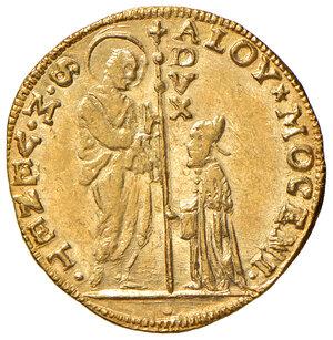 obverse: Venezia. Alvise II Mocenigo (1700-1709). Zecchino AV gr. 3,50. Paolucci 2. SPL-FDC
