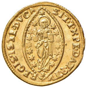 reverse: Venezia. Giovanni II Corner (1709-1722). Zecchino AV gr. 3,50. Paolucci 13. SPL