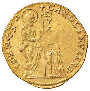 obverse: Venezia. Carlo Ruzzini (1732-1735). Zecchino AV gr. 3,50. Paolucci 2. Migliore di SPL