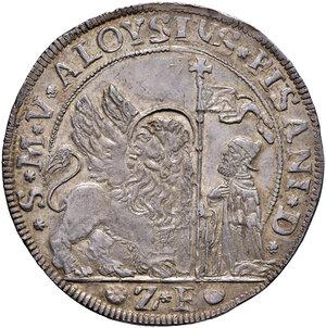 obverse: Venezia. Alvise Pisani (1735-1741). Ducatone da 124 soldi (sigla Z-F; Zorzi Foscolo massaro) AG gr. 27,53. Paolucci 14. Molto raro e in stato di conservazione eccezionale, q.FDC