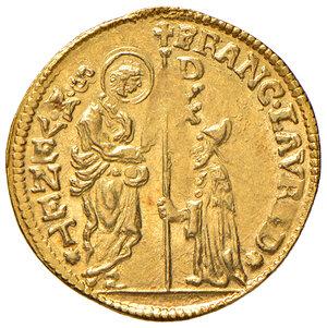 obverse: Venezia. Francesco Loredan (1752-1762). Zecchino AV gr. 3,50. Paolucci 5. SPL/Migliore di SPL