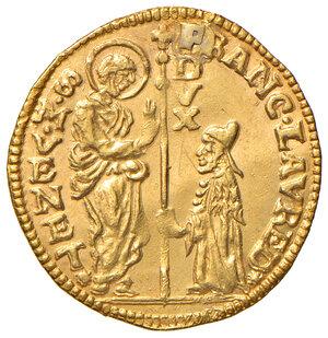 obverse: Venezia. Francesco Loredan (1752-1762). Zecchino AV gr. 3,47. Paolucci 5. Traccia di foro otturato, altrimenti q.SPL