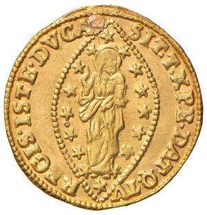 reverse: Venezia. Francesco Loredan (1752-1762). Zecchino AV gr. 3,47. Paolucci 5. Traccia di foro otturato, altrimenti q.SPL