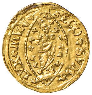 reverse: Venezia. Ludovico Manin (1789-1797). Quarto di zecchino AV gr. 0,81. Paolucci 16. Raro. Traccia di foro abilmente otturato, altrimenti buon BB