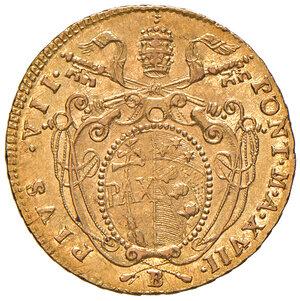 obverse: Bologna. Pio VII (1800-1823). Doppia anno XVII AV. Muntoni 35a. Berman 3218. Chimienti 1236. Rara. SPL/q.SPL