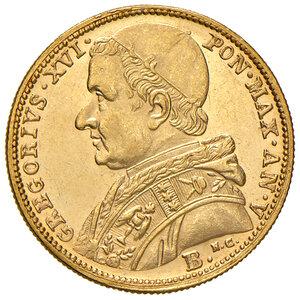 obverse: Bologna. Gregorio XVI (1831-1846). Da 5 scudi 1835 anno V AV. Pagani 137. Chimienti 1280. q.FDC/Migliore di SPL