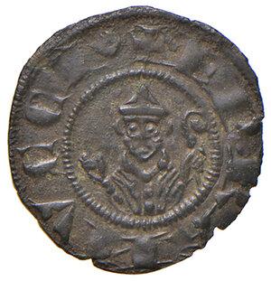 obverse: Casole. Ranuccio Allegretti vescovo di Volterra (1321-1348). Denaro o picciolo MI gr. 0,47. CNI 6 (Berignone). MIR 32/2. Molto raro. Conservazione eccezionale, bello SPL