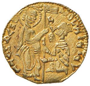obverse: Chio o Mitilene. Anonime dei secc. XIV-XV. Imitazione del ducato veneto AV gr. 3,52.  q.SPL