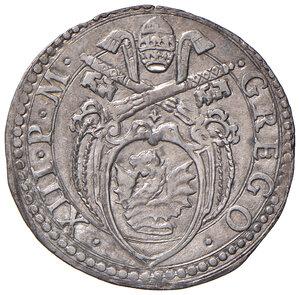 obverse: Giulio AG gr. 3,07. Muntoni 394. Berman 1267. Ciavaglia 31. MIR 1266/5. Di questa moneta il CNI segnala un solo esemplare in C3 al Museo Vaticano. Molto raro. SPL 300