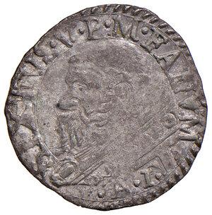 obverse: Fano. Sisto V (1585-1590). Baiocco (sigla A.I; Aloisio Innocenzi zecchiere) MI gr. 1,05. Muntoni 109. Berman 1370. Ciavaglia 41. MIR 1368/1. Molto raro. Buon BB