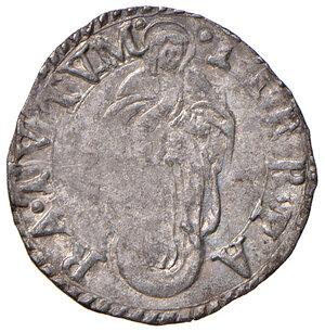 reverse: Fano. Sisto V (1585-1590). Baiocco (sigla A.I; Aloisio Innocenzi zecchiere) MI gr. 1,05. Muntoni 109. Berman 1370. Ciavaglia 41. MIR 1368/1. Molto raro. Buon BB