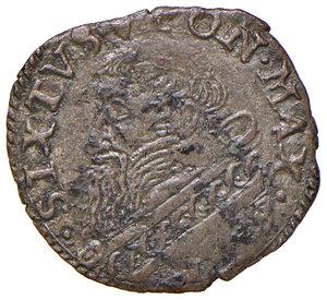 obverse: Fano. Sisto V (1585-1590). Baiocco (sigla A.I; Aloisio Innocenzi zecchiere) MI gr. 1,07. Muntoni 112. Berman 1373. Ciavaglia 43. MIR 1367/2. Buon BB