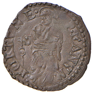 reverse: Fano. Sisto V (1585-1590). Quattrino MI gr. 0,55. Muntoni 117. Berman 1376. Ciavaglia 46. MIR 1372/2. q.SPL
