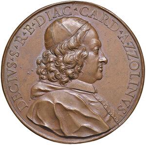 obverse: Fermo. Decio Azzolino cardinale (1623-1689). Medaglia (1680) AE gr. 84,70 diam. 60,5. Opus Massimiliano Soldani. Vannel-Toderi 32. Coniazione originale. Molto rara. Più di SPL