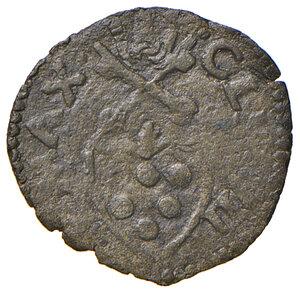 obverse: Ancona. Clemente VII (1523-1534). Quattrino MI gr. 0,65. Muntoni 100. Berman 871. Dubbini-Mancinelli pag. 121 (2° tipo). MIR 843/3. Molto raro. q.BB