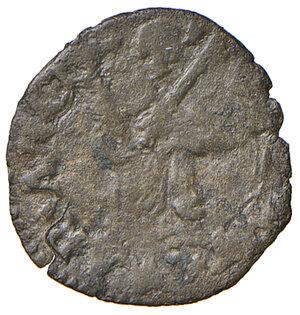 reverse: Ancona. Clemente VII (1523-1534). Quattrino MI gr. 0,65. Muntoni 100. Berman 871. Dubbini-Mancinelli pag. 121 (2° tipo). MIR 843/3. Molto raro. q.BB