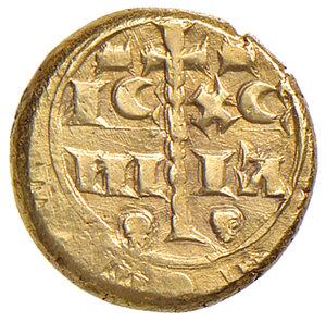 reverse: Messina. Manfredi di Svevia (1258-1266). Multiplo di tarì AV gr. 5,07. Spahr 181. MEC 14, 599. Ex asta NAC 57/2010, Patti, 147. Tipo molto raro e di peso insolito. Buon BB