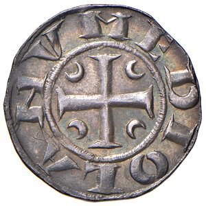 obverse: Milano. Prima Repubblica (1250-1310). Ambrosino AG gr. 2,89. Crippa 23. MIR 66/3. MEC12, 573. Bellissima patina di medagliere, migliore di SPL
