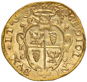 reverse: Milano. Filippo IV re di Spagna (1621-1665). Quadrupla 1630 AV gr. 13,24. Crippa 3/A. MIR 359/6. Rara. Migliore di SPL