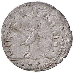 reverse: Montalto. Sisto V (1585-1590). Baiocco MI gr. 1,12. Muntoni 129. Berman 1383. MIR 1379/25. Raro. Buon BB