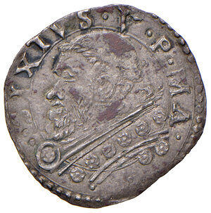 obverse: Montalto. Sisto V (1585-1590). Baiocco MI gr. 1,02. Muntoni 132 var. Berman 1384. MIR 1380/4 var. Migliore di BB