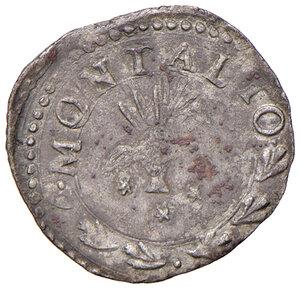 reverse: Montalto. Sisto V (1585-1590). Baiocco MI gr. 1,02. Muntoni 132 var. Berman 1384. MIR 1380/4 var. Migliore di BB
