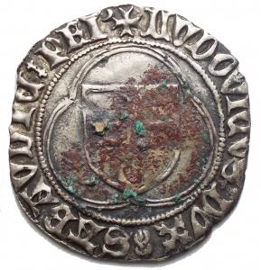 obverse: Casa Savoia - Ludovico (1440-65) - Doppio Bianco - g.2,88. Sedimenti. BB++