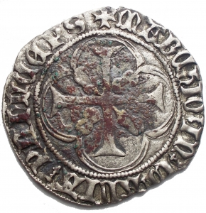 reverse: Casa Savoia - Ludovico (1440-65) - Doppio Bianco - g.2,88. Sedimenti. BB++