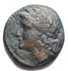 obverse: Varie - Ae da catalogare. Apollo/Cetra gr 2,98. mm 14,46 x 15,2