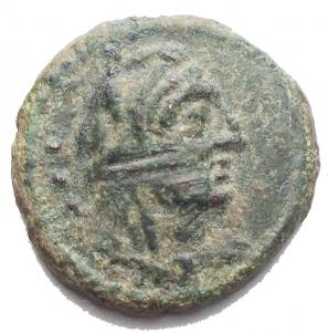 obverse: Repubblica Romana. Quadrante Ae da catalogare. g 3,2 mm 16,75