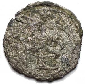 reverse: Milano. Ludovico XII d Orleans (1500-1513). Trillina. CNI 122/125. Cr. 16. MIR 249. MI. g. 0,72. mm. 15,96. NC. qBB.