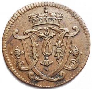 reverse: Monete del Mondo - Germania. Koln. 1/4 Stuber 1767