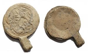 obverse: Medaglie e placchette - Bolla, sigillo in piombo da catalogare