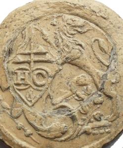 reverse: Medaglie e placchette - Bolla, sigillo in piombo da catalogare