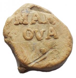 obverse: Medaglie e placchette - Bolla, sigillo in piombo da catalogare. gr 4,4