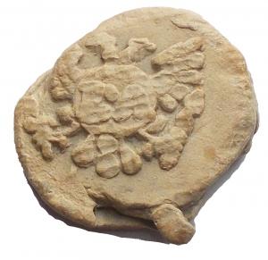 reverse: Medaglie e placchette - Bolla, sigillo in piombo da catalogare. gr 4,4