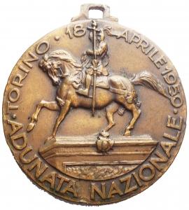 reverse: Medaglie e Placchette. Torino 18 Aprile 1959. III° Centenario Di Fondazione Del Corpo Dei Granatieri. gr 25,15. mm 37,47