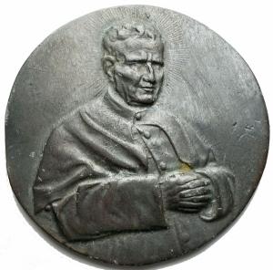 obverse: Medaglie - Medaglia-Placchetta Don Bosco. gr 36,4. mm 58