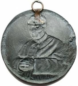 reverse: Medaglie - Medaglia-Placchetta Don Bosco. gr 36,4. mm 58