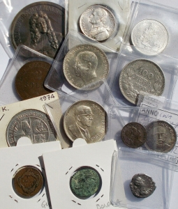 obverse: Various lot of 13 pieces in AR, AE, MI