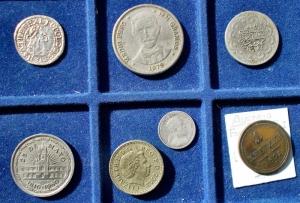 obverse: Lotti - Monete del Mondo. 7 esemplari