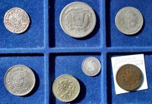 reverse: Lotti - Monete del Mondo. 7 esemplari