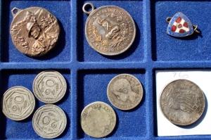 obverse: Lotti - Monete e medaglie. 9 esemplari