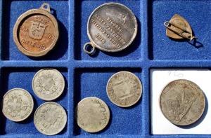 reverse: Lotti - Monete e medaglie. 9 esemplari