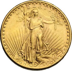 obverse: USA. 20 Dollars 1924
